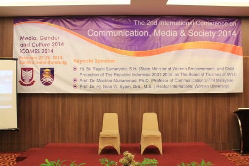 The 2nd International Conference on Communication, Media & Society: Media, Gender and Culture 2014_E