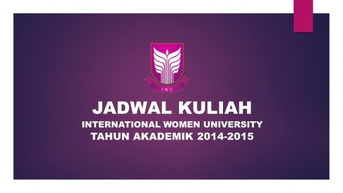 JADWAL KULIAH SMT TH AKADEMIK 2014-2015_E