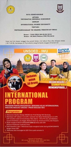 International Program IWU-UNSOED_E