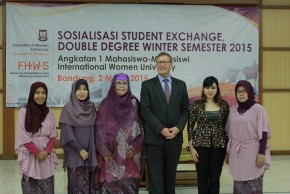 SOSIALISASI STUDENT EXCHANGE, DOUBLE DEGREE WINTER SEMESTER 2015_E