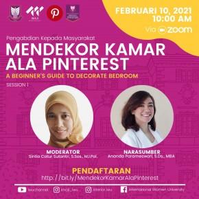 Kegiatan Webinar Mendekor Kamar Ala Pinterest Sesi 1_E